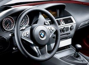 BMW 6er Coupé Interieur