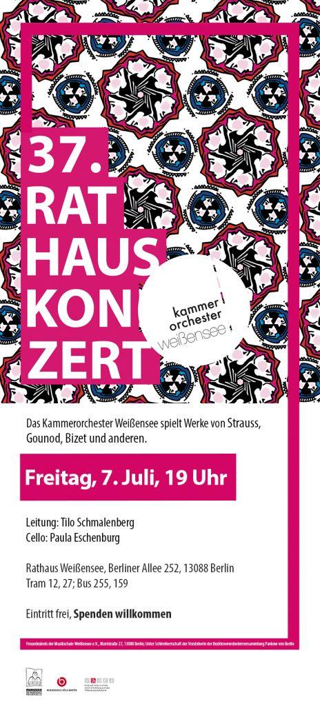 37. Rathauskonzert