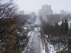 Toronto im Nebel