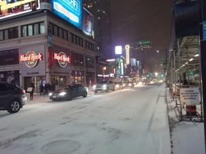 Toronto im Schnee