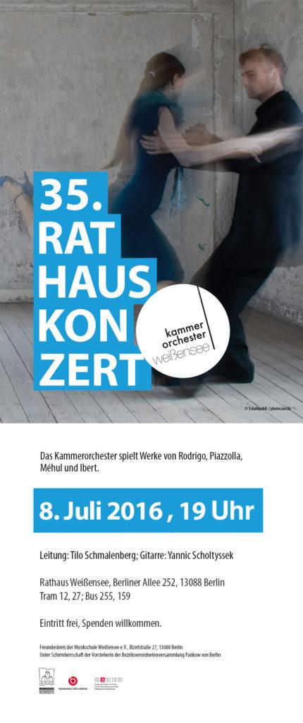 35. Rathauskonzert