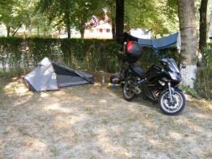 Motorradcamping